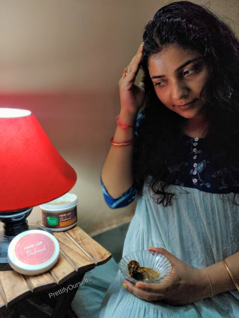 mother sparsh hair lep for post pregnency hair loss