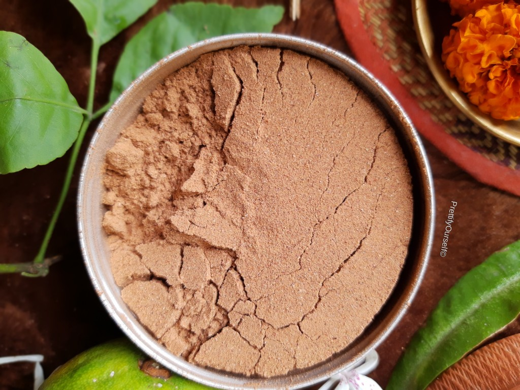 texture of wild organica home skin brightening face mask